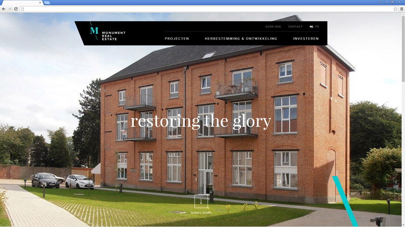 monument-realestate.be Website Review